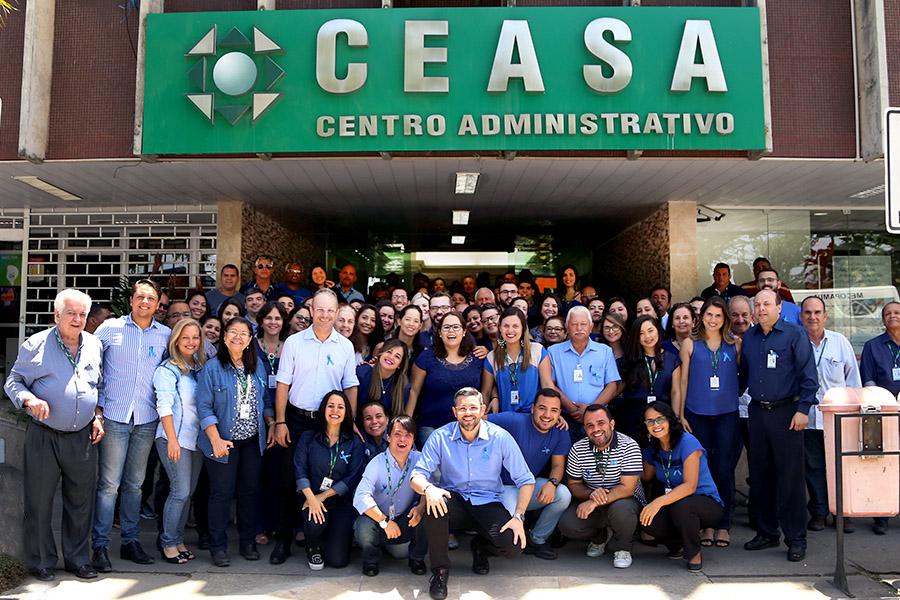 Funcionários do Ceasa aderem ao Novembro Azul