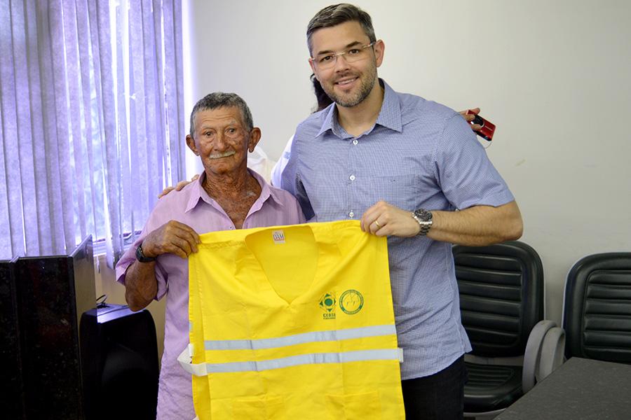 Ceasa se reúne com agricultores familiares participantes do projeto Hortas Comunitárias