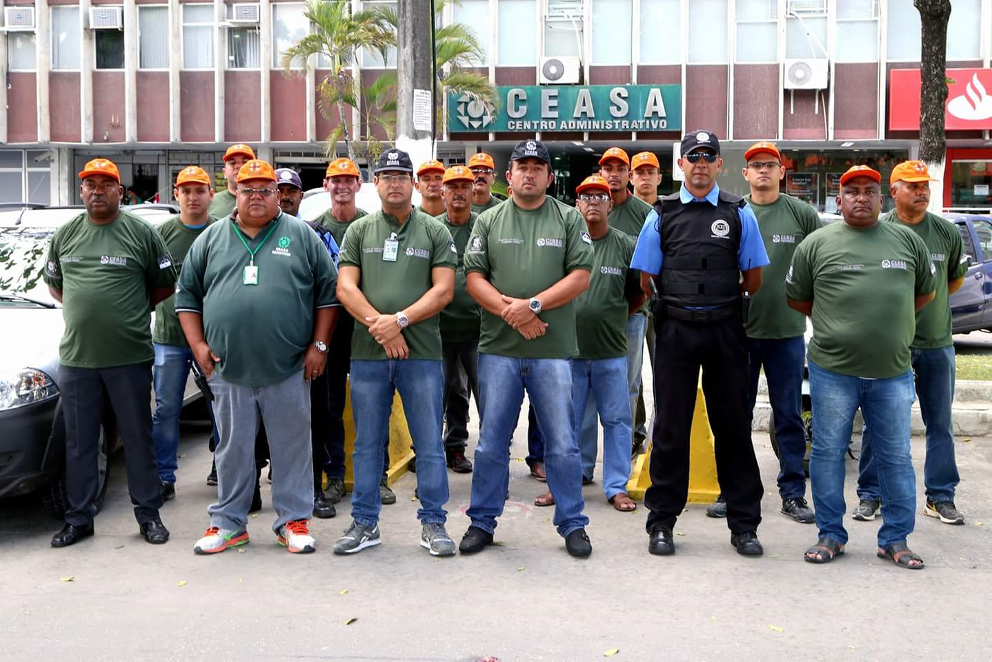 Assaltantes são detidos dentro do Ceasa