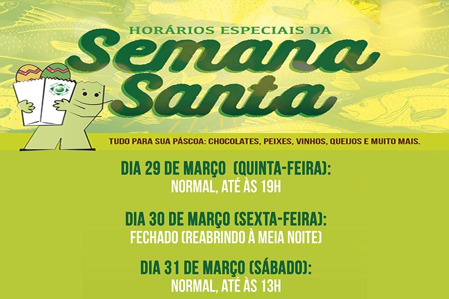 Ceasa terá horário especial para o feriado da Semana Santa