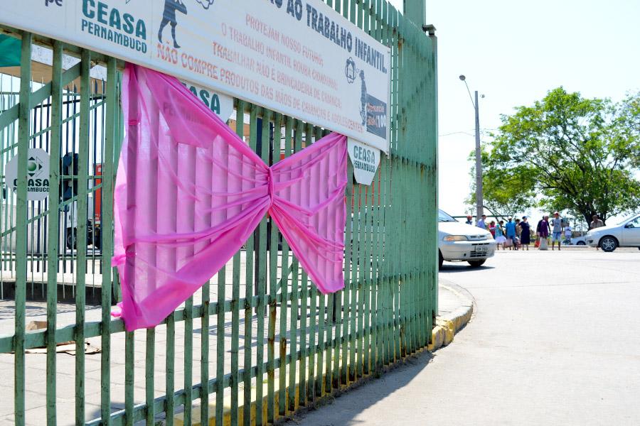 Ceasa se mobiliza a favor do Outubro Rosa