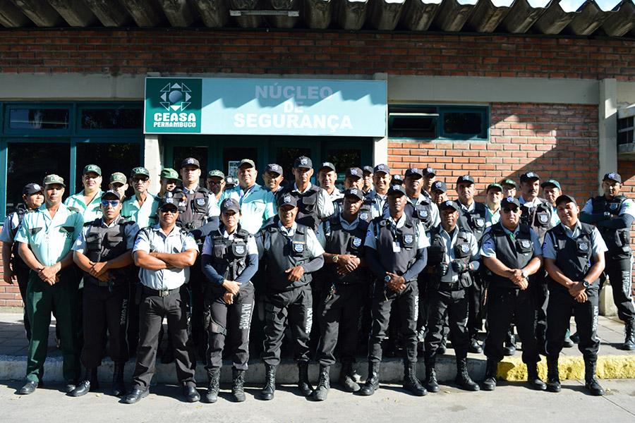 Ceasa reforça efetivo de vigilantes durante o período de Fim de Ano