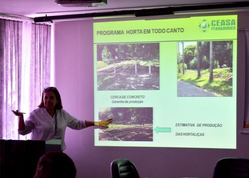 Ceasa recebe reunião do Programa Horta em Todo Canto