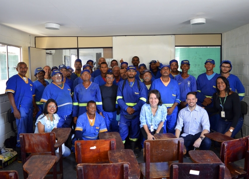 Prestadores de serviços do Ceasa participam de palestra sobre o câncer de próstata