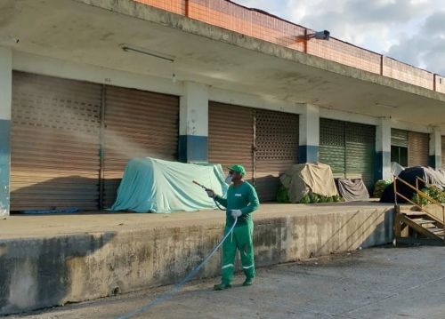 Confira imagens das ações que estão sendo desenvolvidas no Ceasa