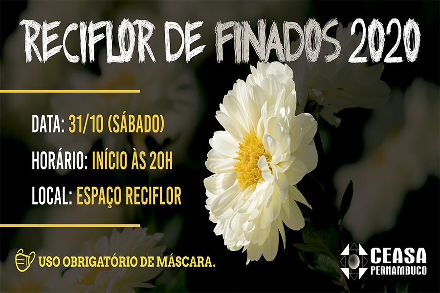 Feira de Flores de Finados acontecerá no próximo sábado