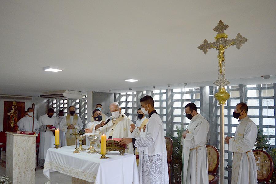 Dom Saburido celebra missa no novo templo ecumênico do Ceasa