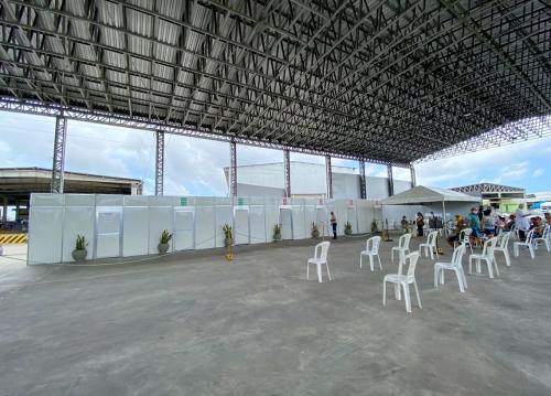 Centro de Testagem do Ceasa será desmobilizado em 2 de julho